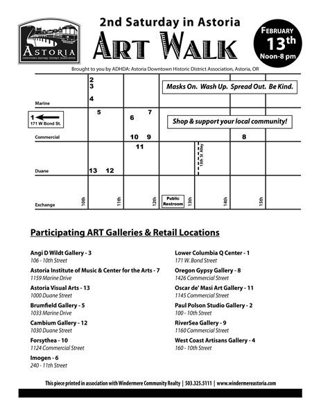 Astoria's 2nd Saturday Art Walk