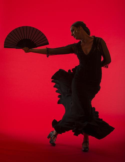 Flamenco Dancer Savannah Fuentes at KALA