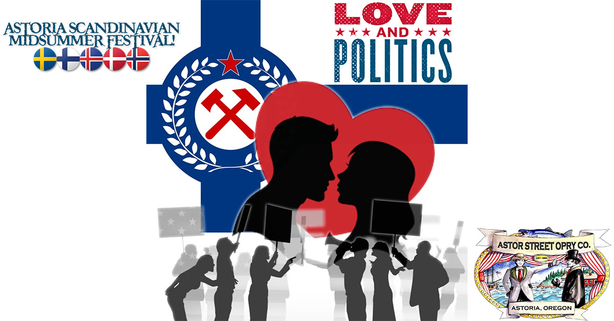 Virtual reader's theatre production of 'Love and Politics'
