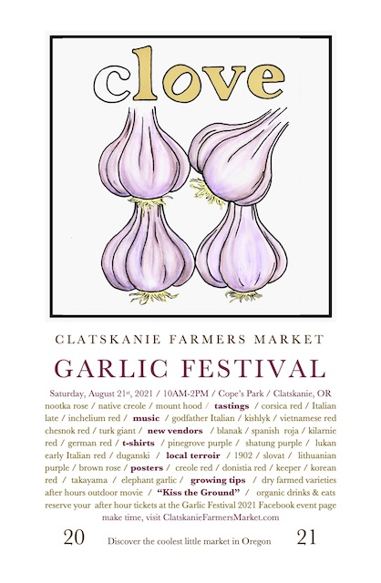 Clatskanie's Annual Garlic Festival