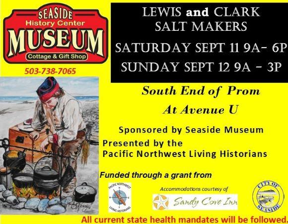Lewis and Clark Salt Making Demonstration